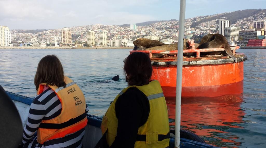 Boat tour of Valparaiso harbor. Source: John Katers.