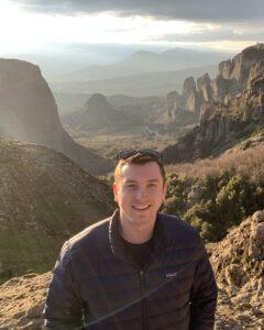 University of Wisconsin Sustainable Management student, Zachary Sokol.