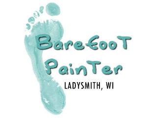 Barefoot Painter logo